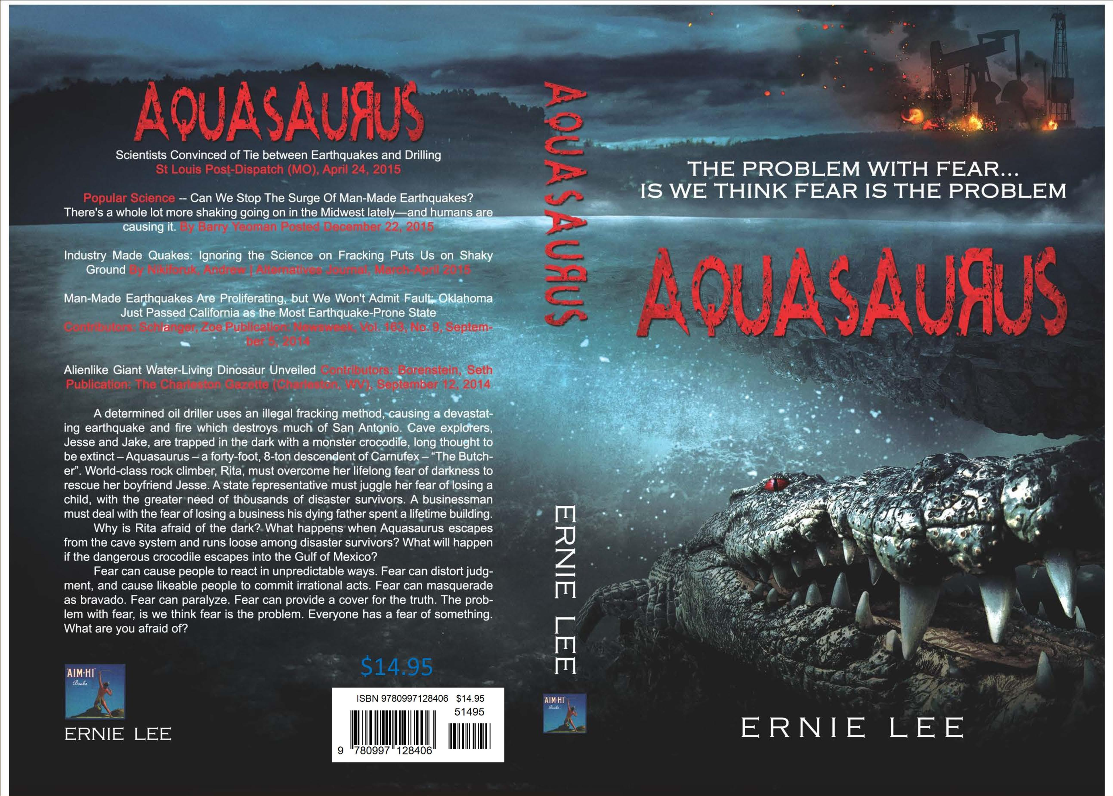 AQUASAURUS cover image