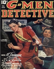 G-Men Detective 1943 Fall cover image