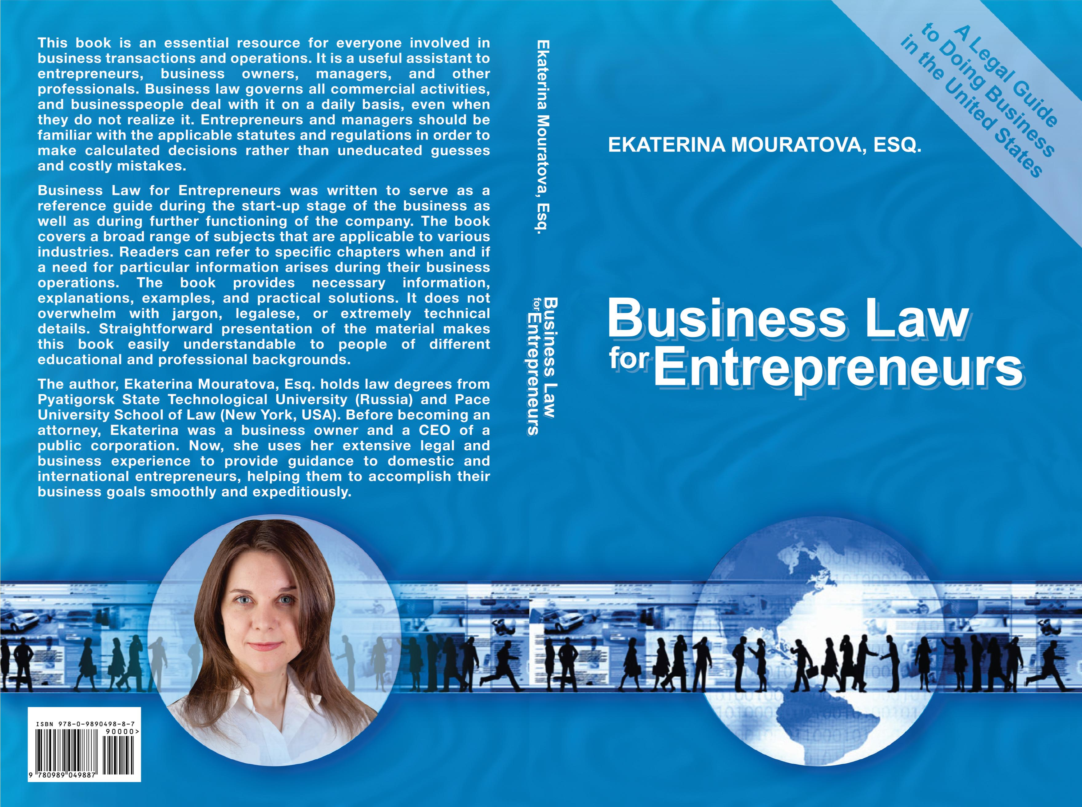 Business Law for Entrepreneurs. A Legal Guide to Doing Business in the United States. cover image