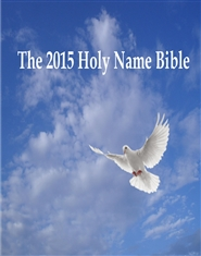 The 2015 Holy Name Bible Book 1 - The Patriarchs and The Judges cover image