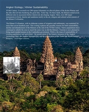Angkor Ecology / Sustainable Khmer: A Brief Natural History of the Khmer Capital cover image