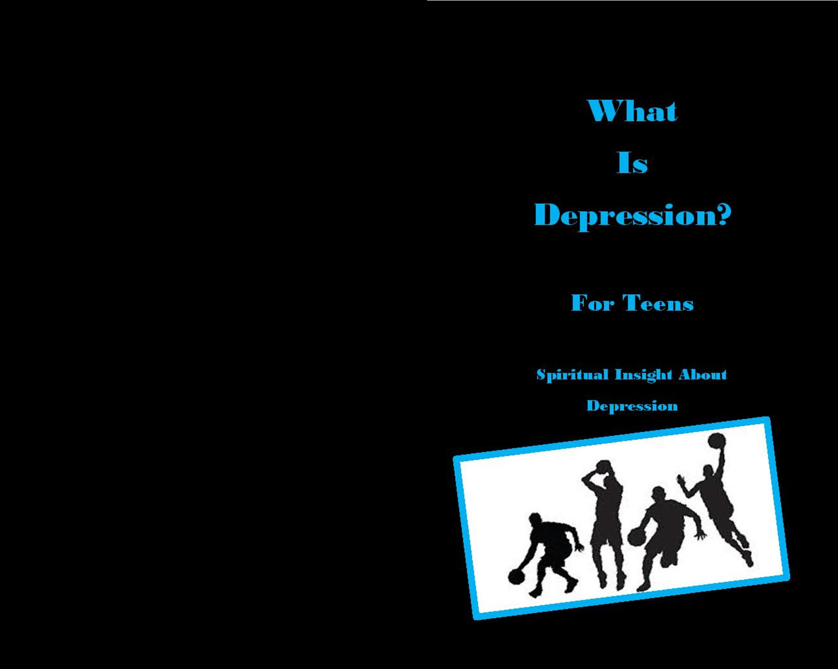 What Is Depression? for Boy Teens cover image