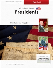 44 United States Presidents - Getty-Dubay, Basic Print cover image