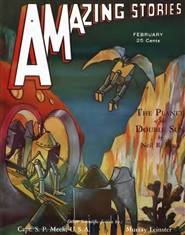 Amazing Stories 1932 February cover image