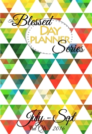 """The Blessed Series"", July-Sept 3rd Quarter Life Planner cover image"