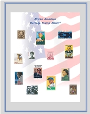 African American Heritage Stamp Album® cover image