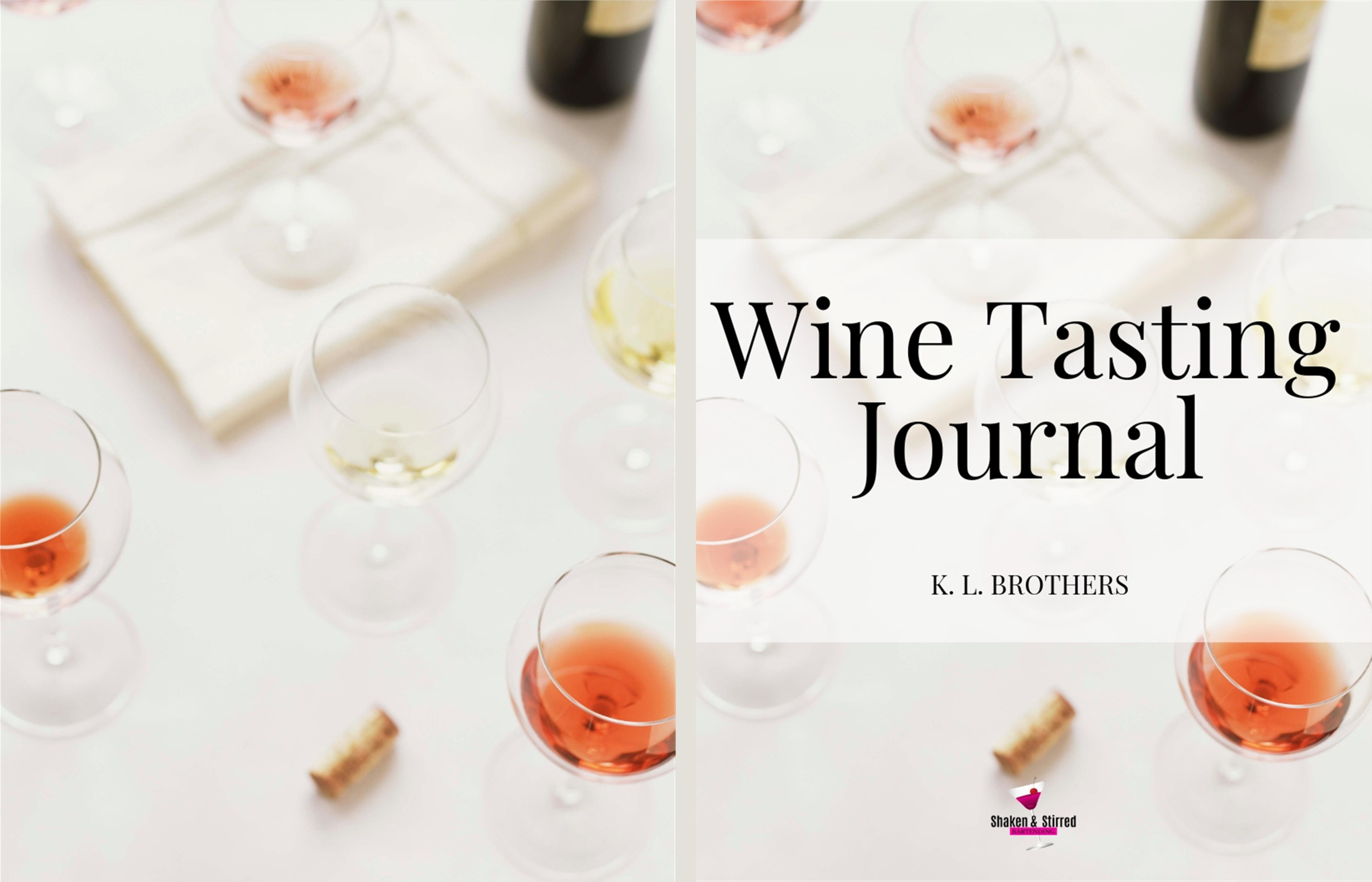 Wine Tasting Journal cover image