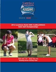 2012 Leachman Buick-GMC-Cadillac/KHSAA Golf Championship Program cover image