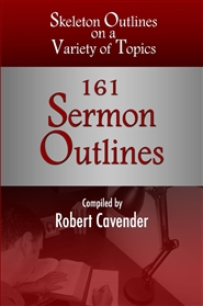 161 Sermon Outlines cover image