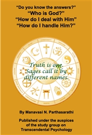 "Do you know the answers? ""Who is God?"" "" How do I handle Him?"" "" How do I deal with Him?"" cover image"