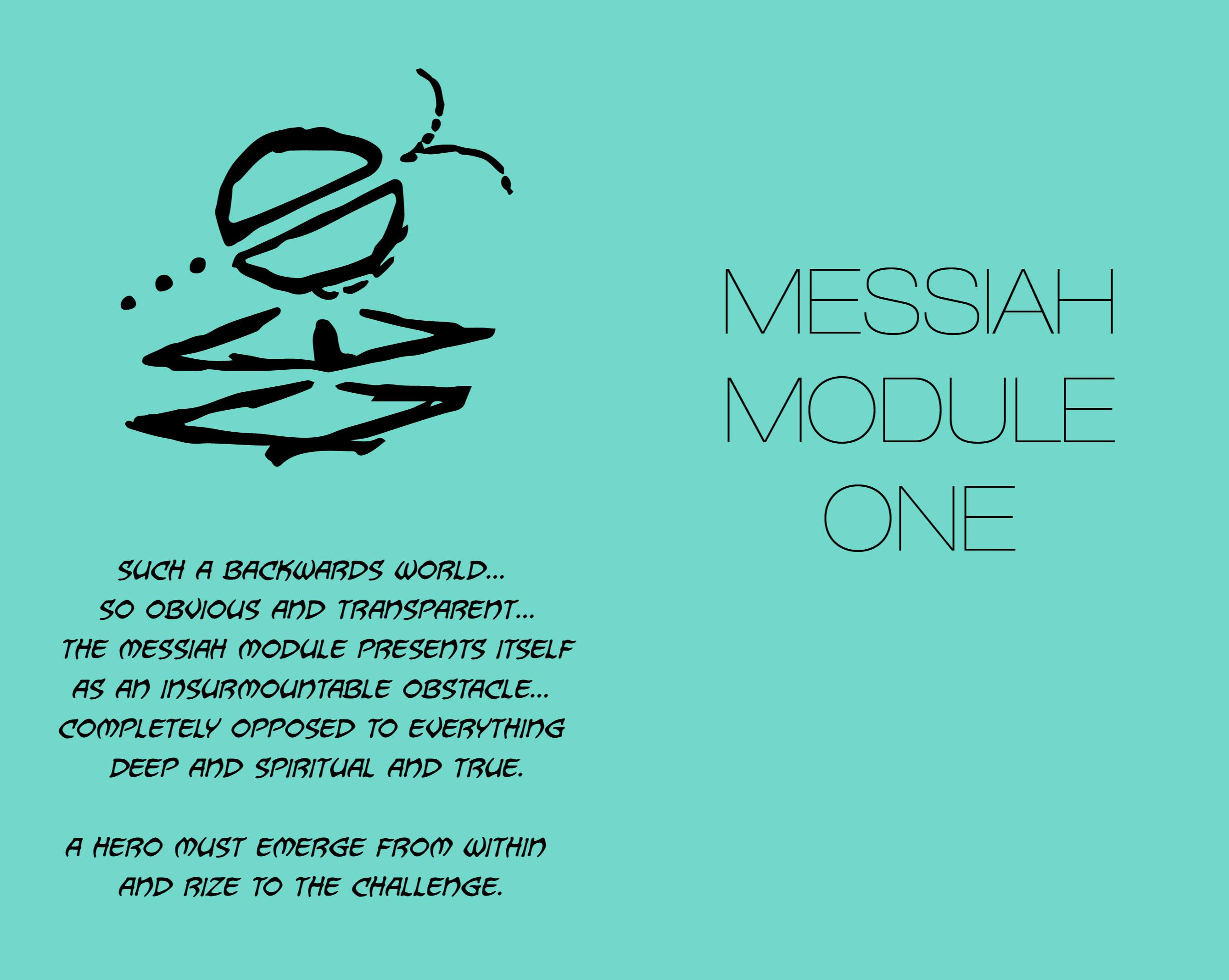MESSIAH MODULE 1 cover image