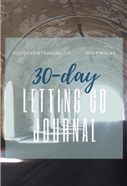 30-Day Letting Go Journal cover image