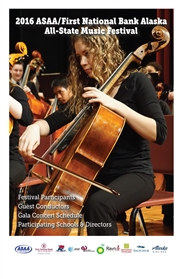 2016 ASAA/First National Bank Alaska All-State Music Festival Program cover image