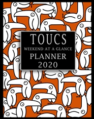 Toucs Weekend At A Glance Planner 2020 cover image