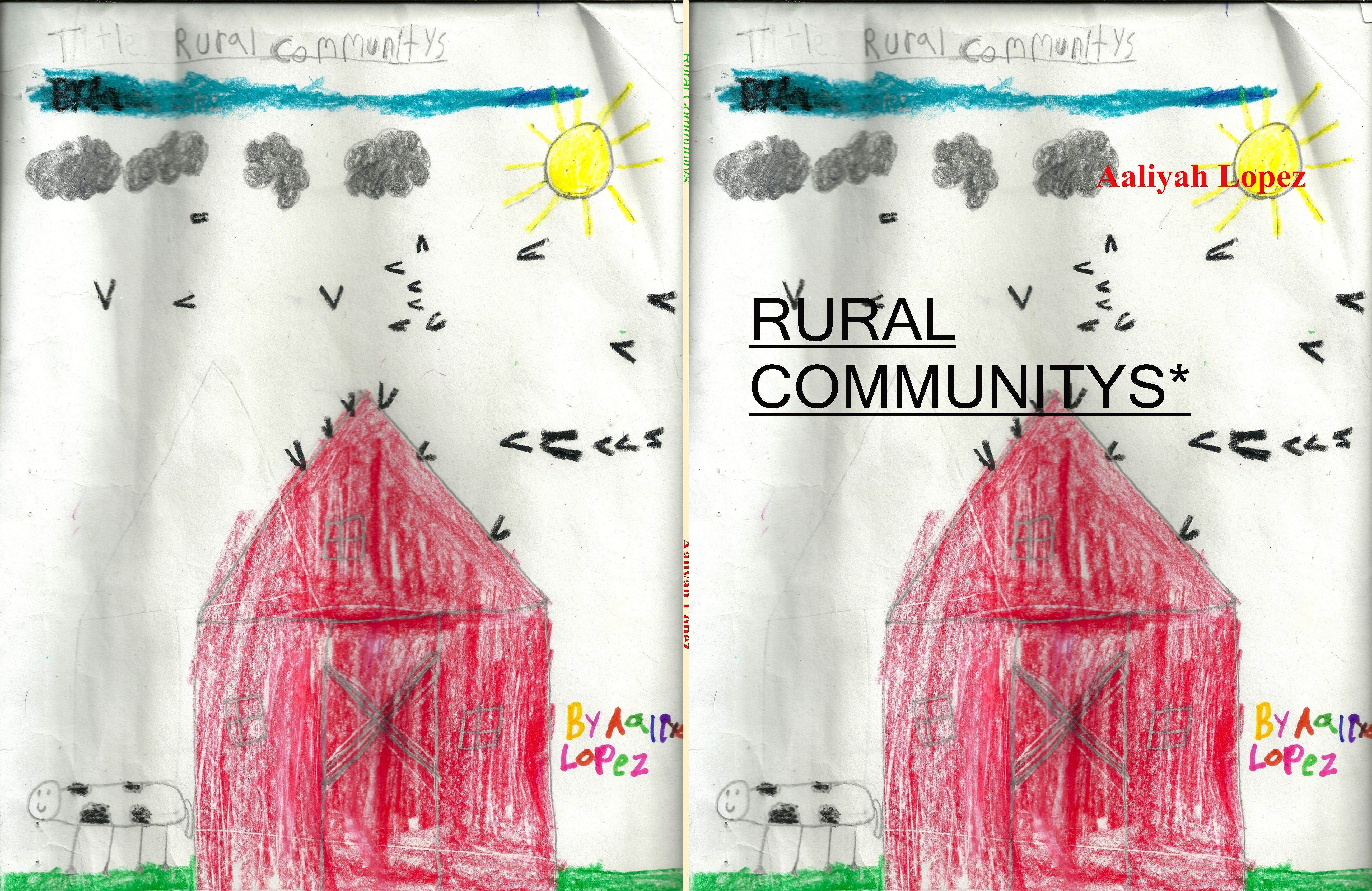 RURAL COMMUNITYS* cover image