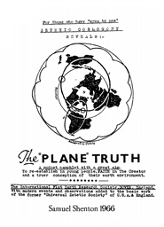 Zetetic Cosmogony Reveals The Plane Truth: Blunder or Crime cover image