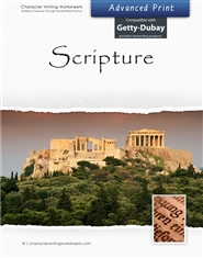 Scripture - GDI - Advanced Print cover image