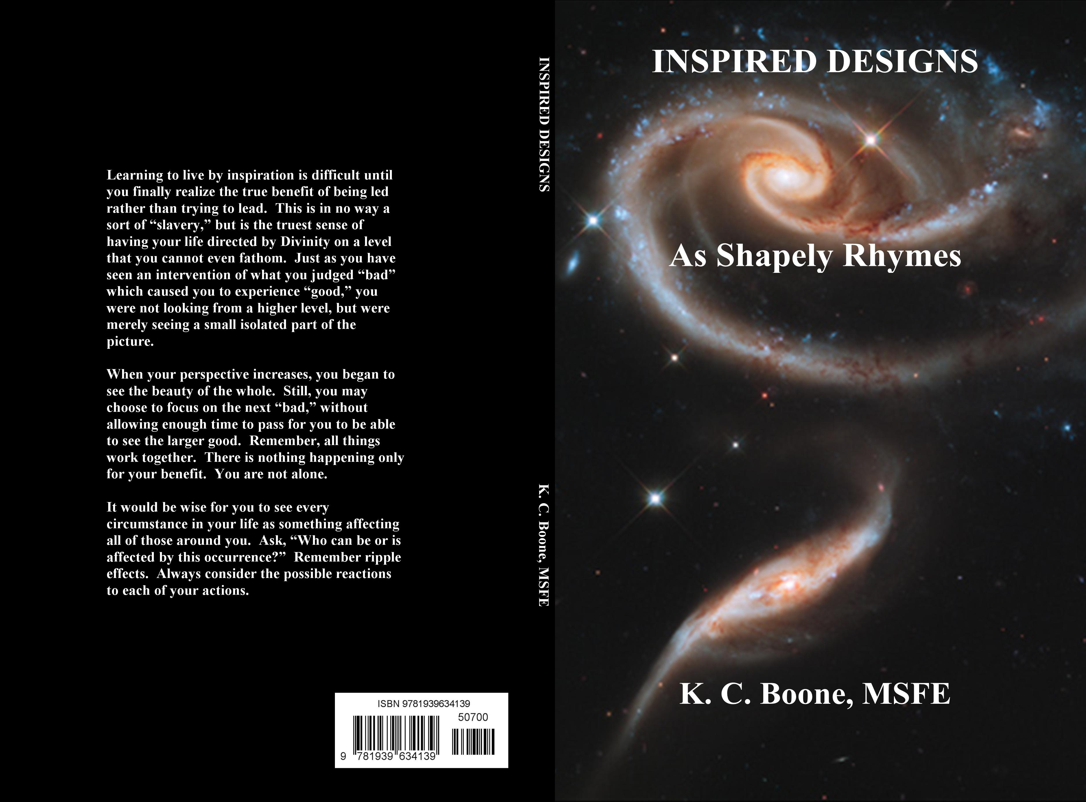 INSPIRED DESIGNS As Shapely Rhymes cover image