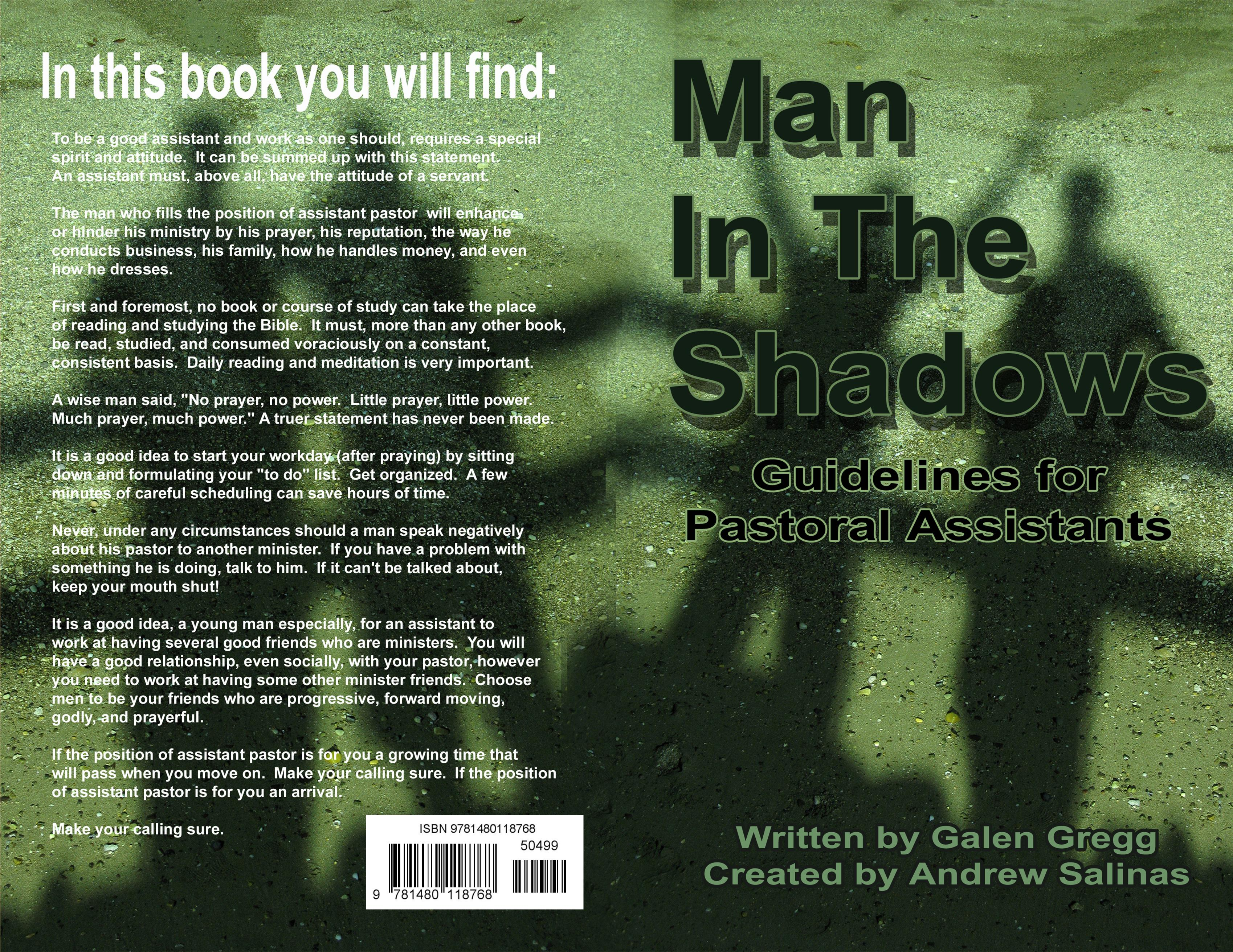 Man In The Shadows cover image
