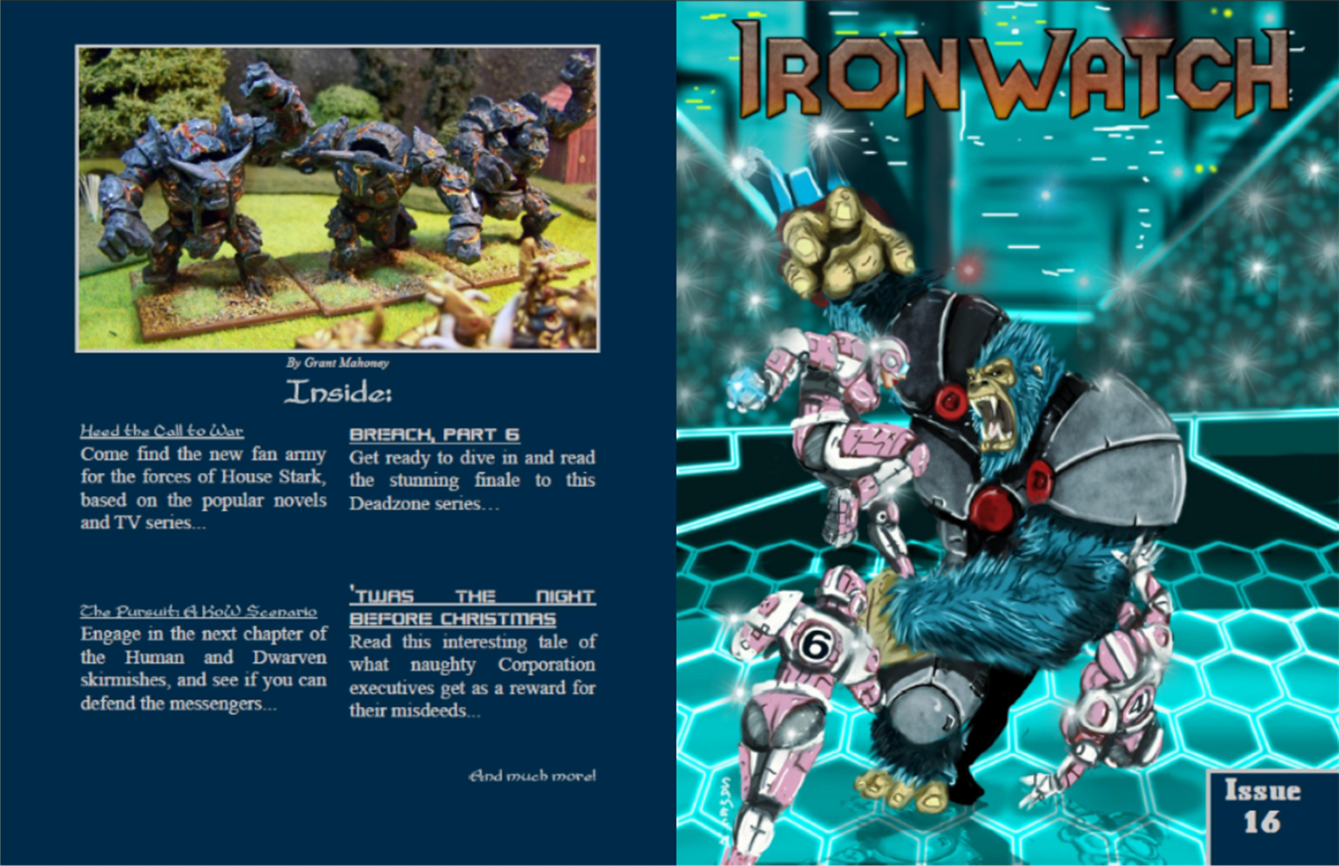 Ironwatch Issue 16 cover image