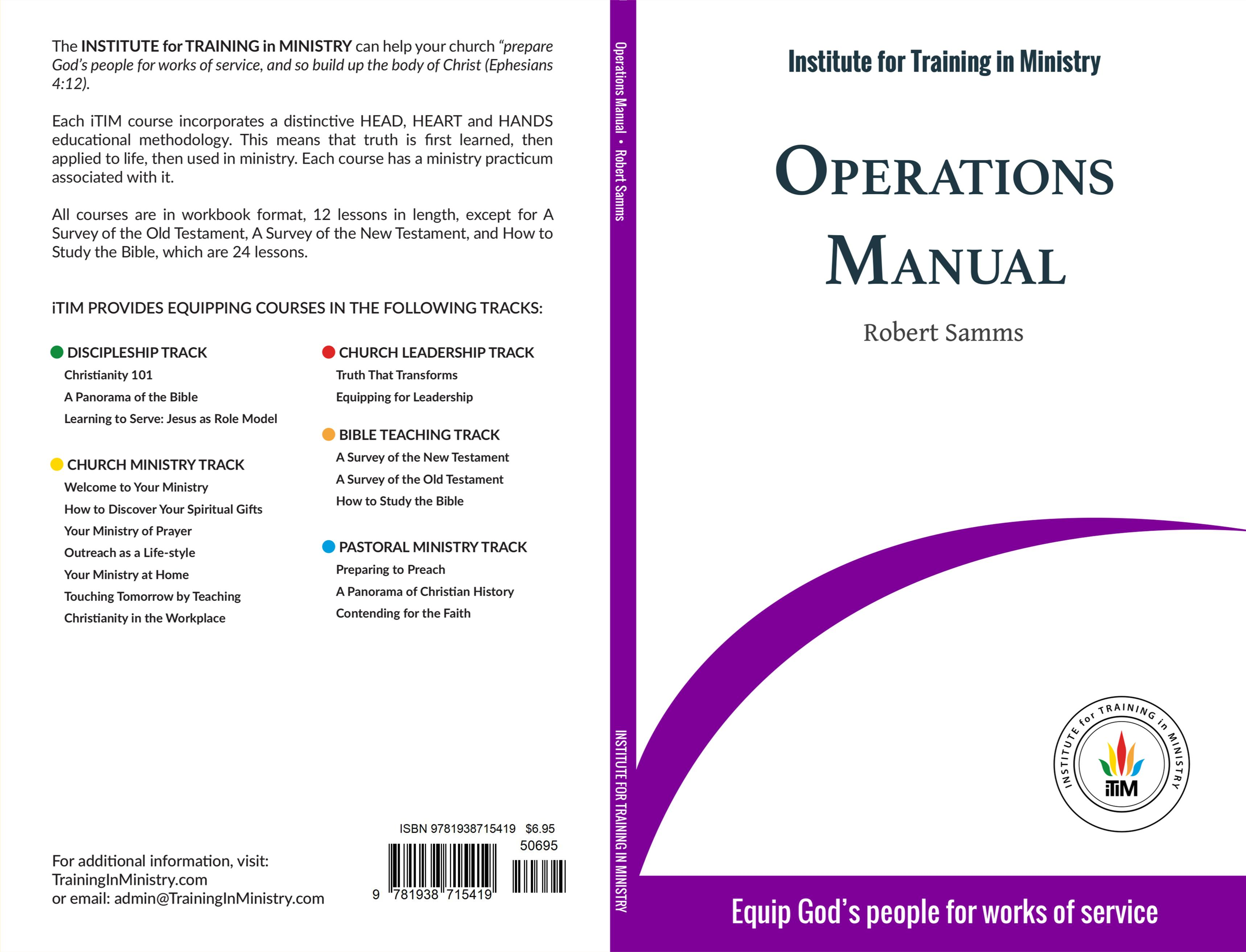 Operations Manual cover image