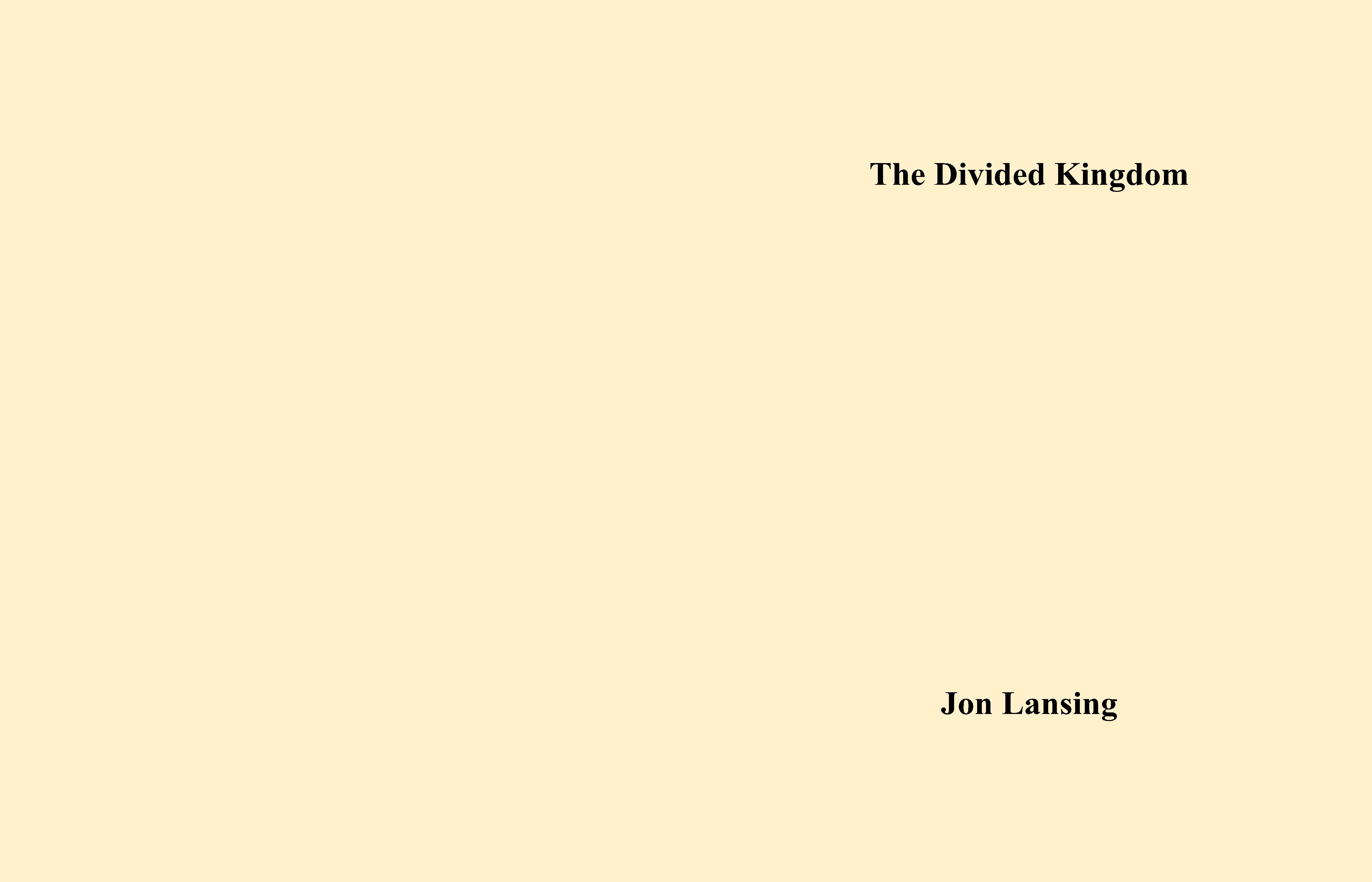 The Divided Kingdom cover image