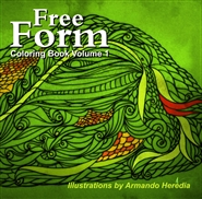 Free Form Coloring Book Volume 1 cover image
