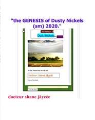 """the GENESIS of Dusty Nickels (sm) 2019."" cover image"