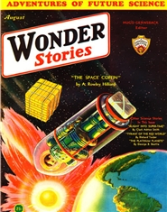 Wonder Stories 1932 August cover image