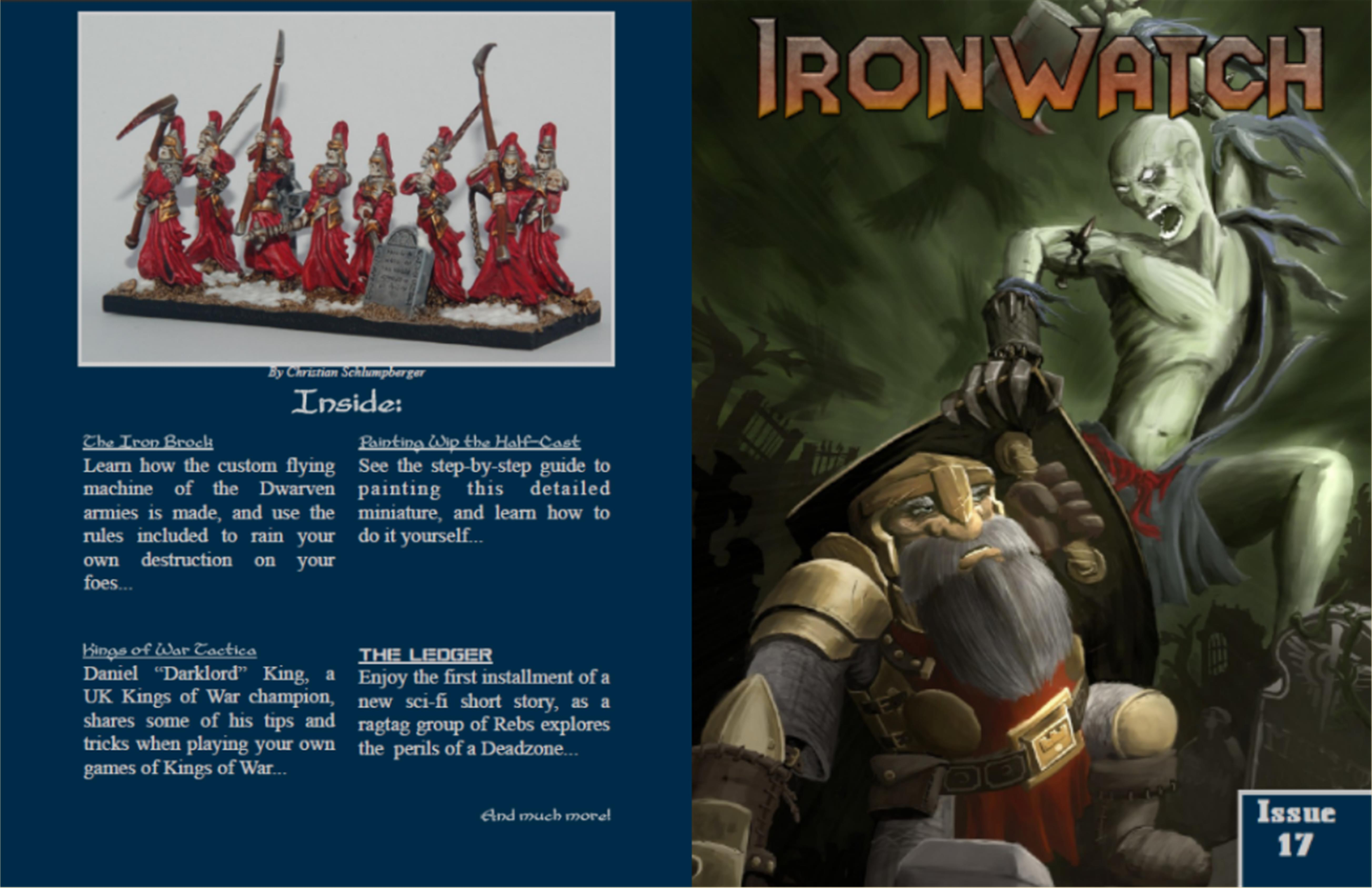 Ironwatch Issue 17 cover image