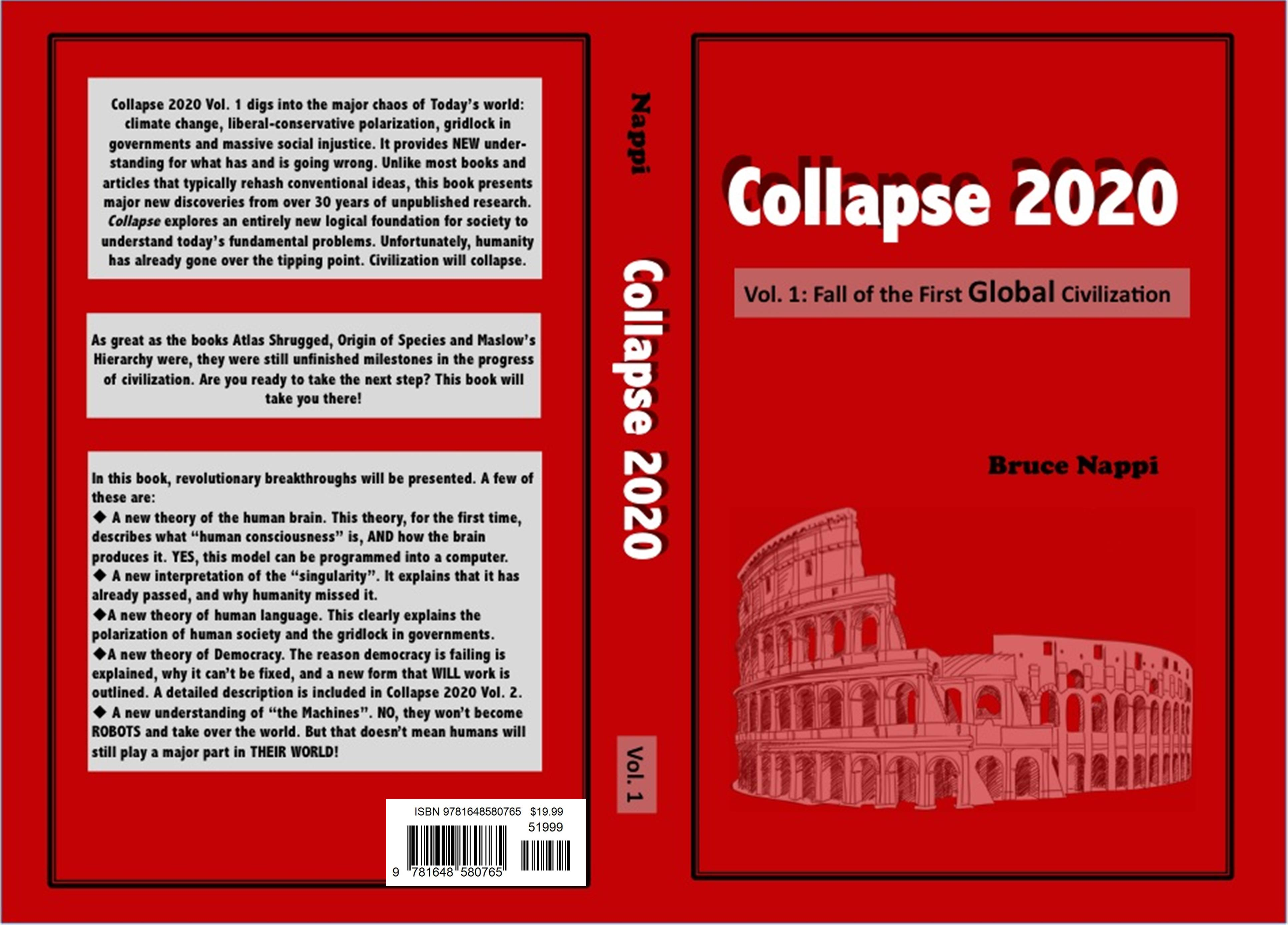 Collapse 2020 Vol. 1 : Fall of the First Global Civilization cover image