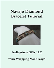 Navajo Diamond Bracelet Tutorial cover image