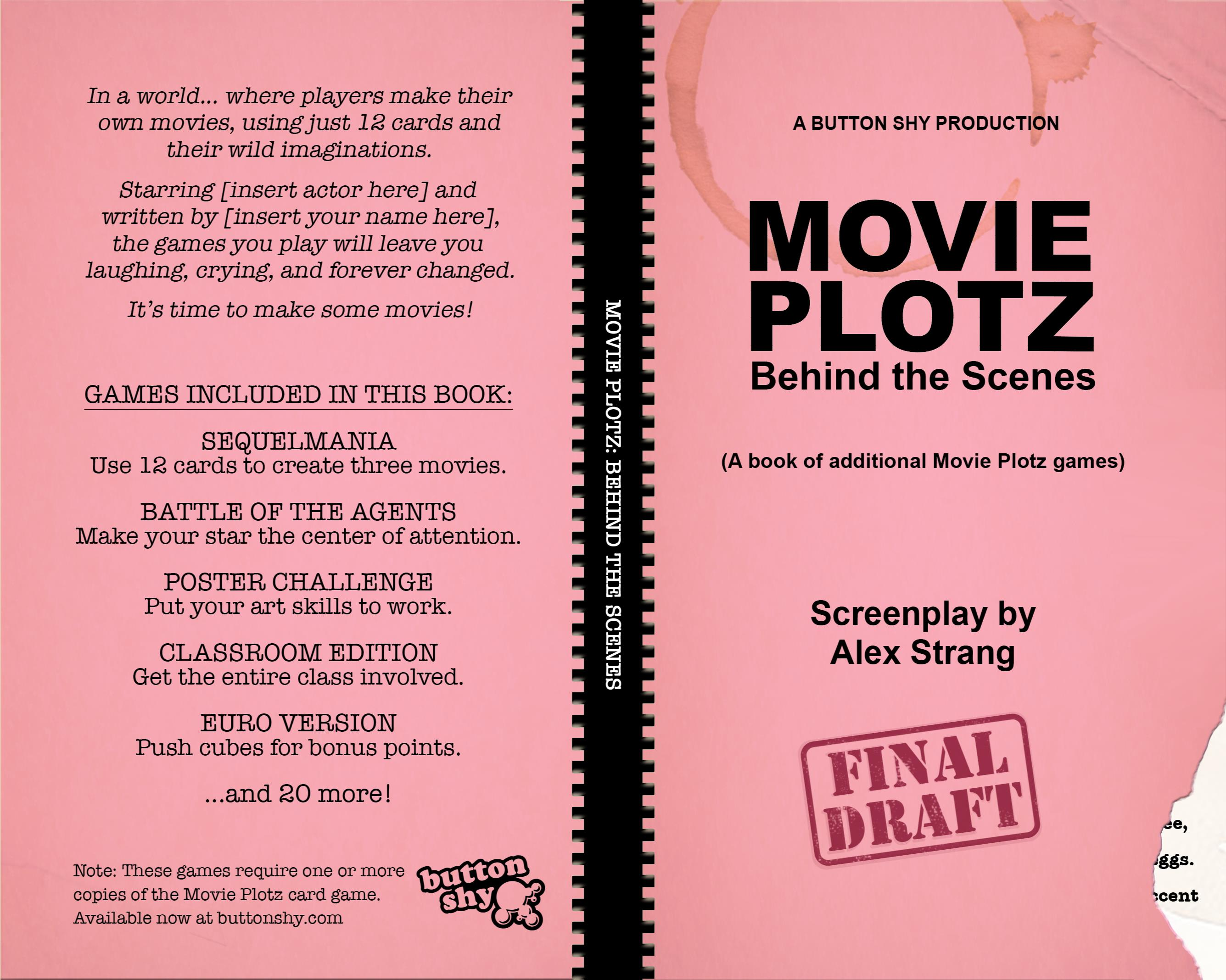 Movie Plotz: Behind The Scenes cover image