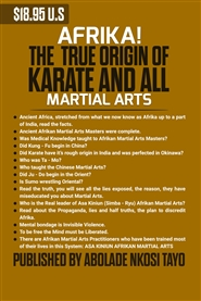 AFRIKA! The True Origin of Karate and All Martial Arts cover image