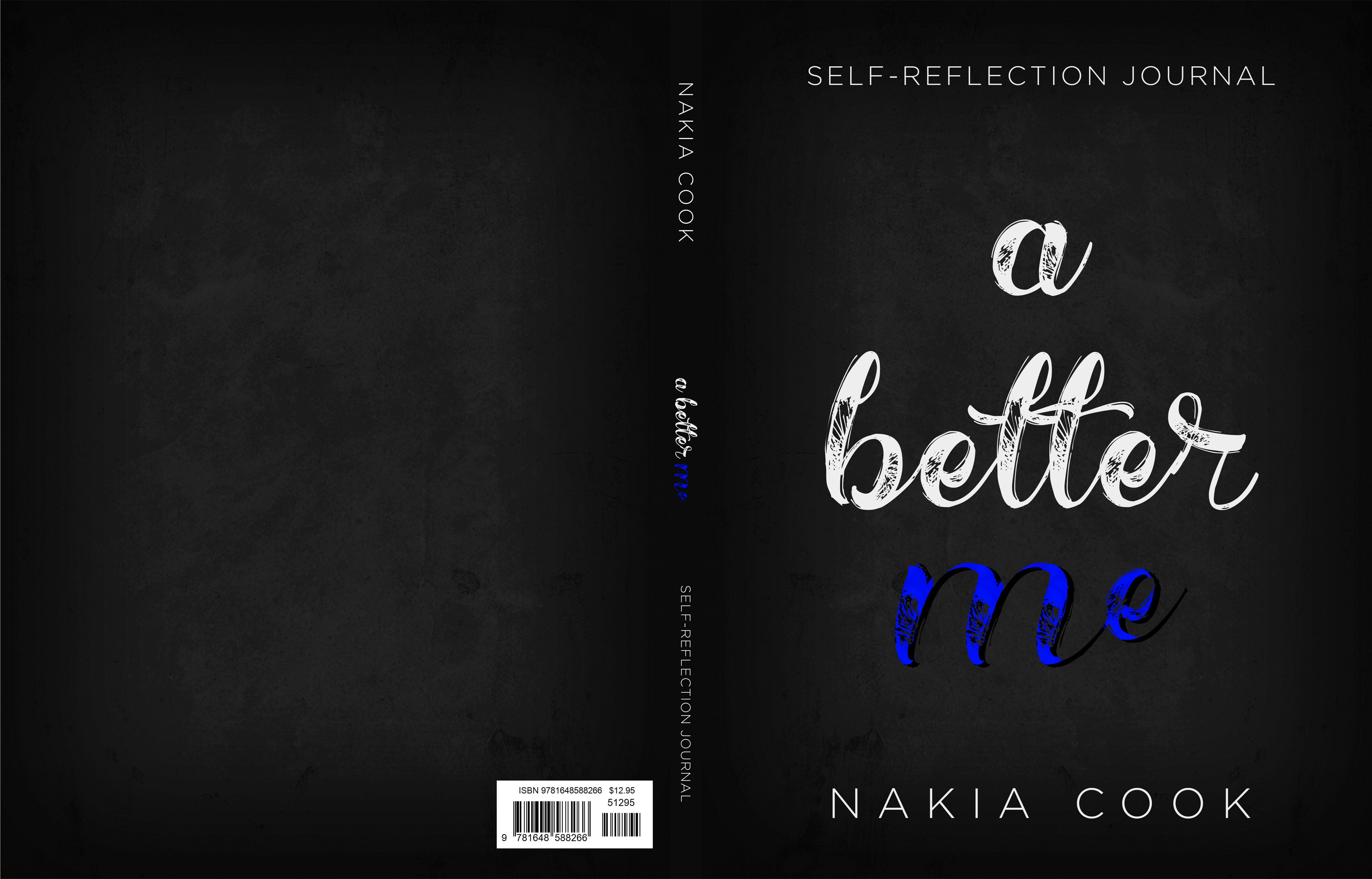 A Better Me  Self-Reflection Journal cover image