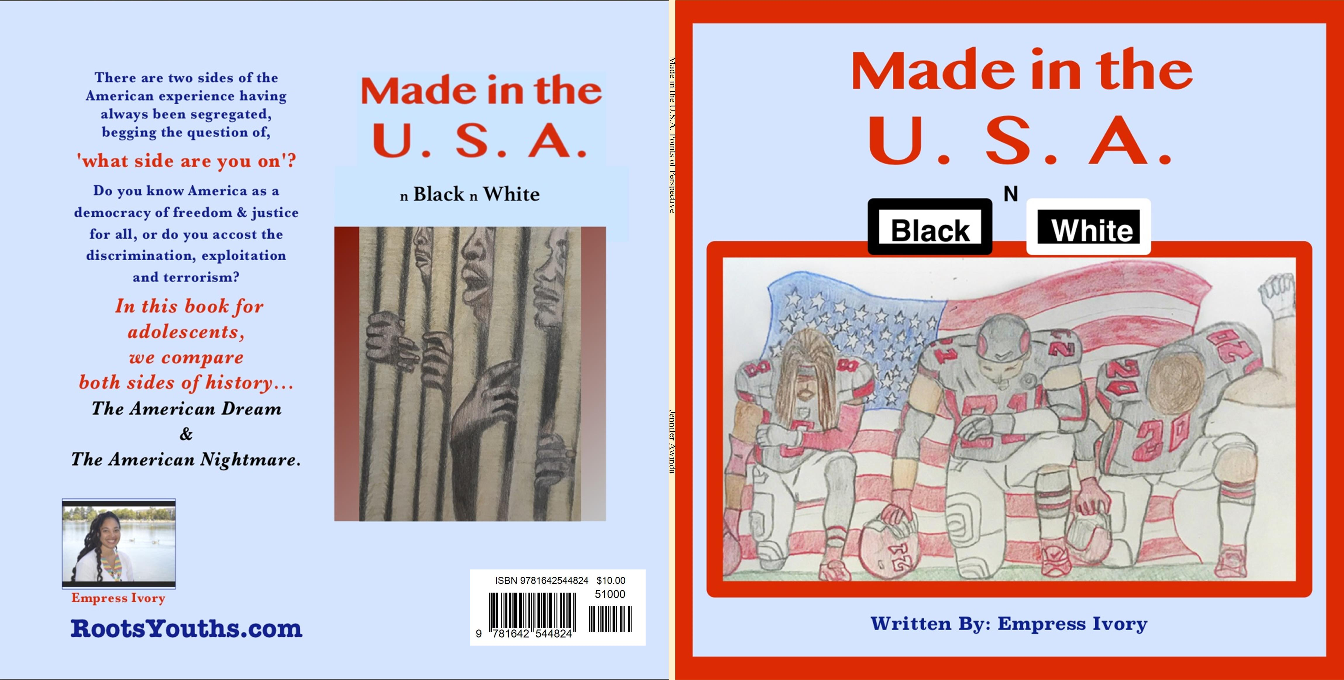 Made in the U.S.A., n Black n White cover image