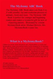 The MyJenny ABC Book cover image