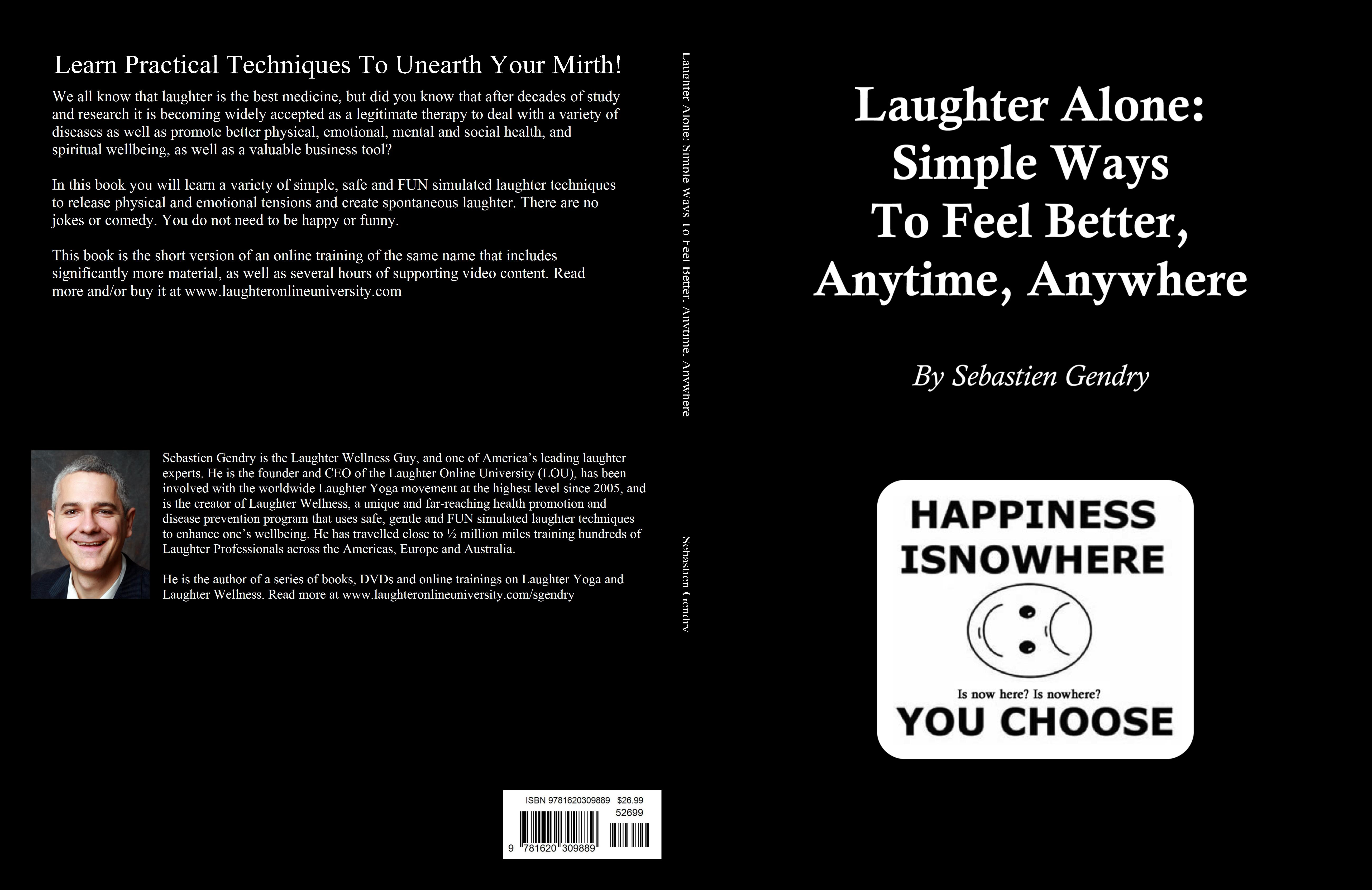 Laughter Alone: Simple Ways To Feel Better, Anytime, Anywhere cover image