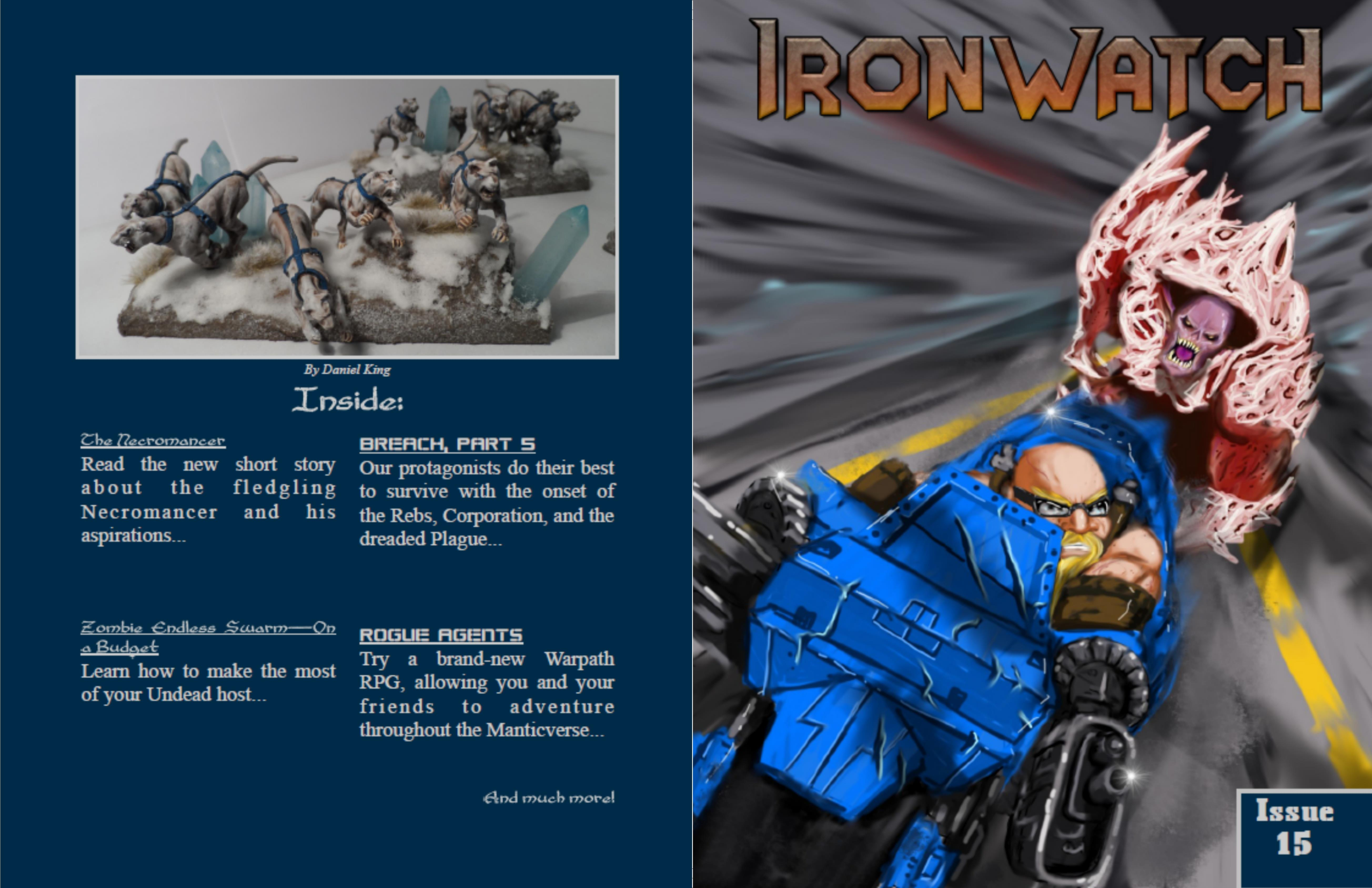 Ironwatch Issue 15 cover image
