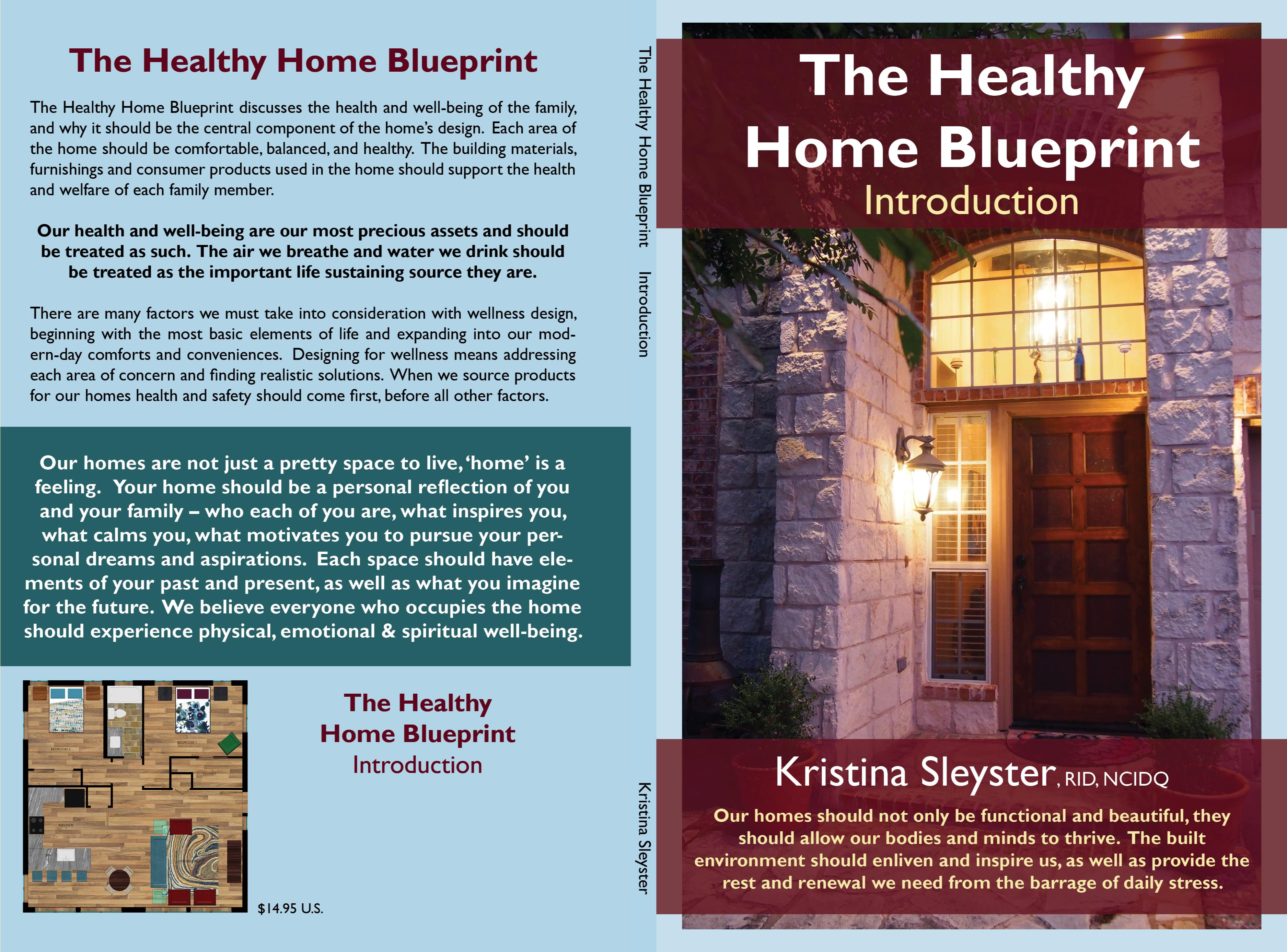 The Healthy Home Blueprint cover image