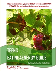 TEENS EATING4ENERGY GUIDE cover image