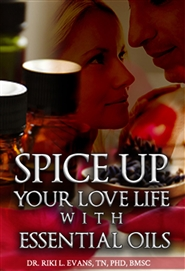 Spice Up Your Love Life With Essential Oils, Black & White Version cover image