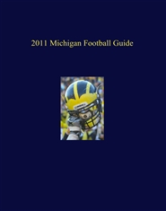 2011 Michigan Football Guide cover image