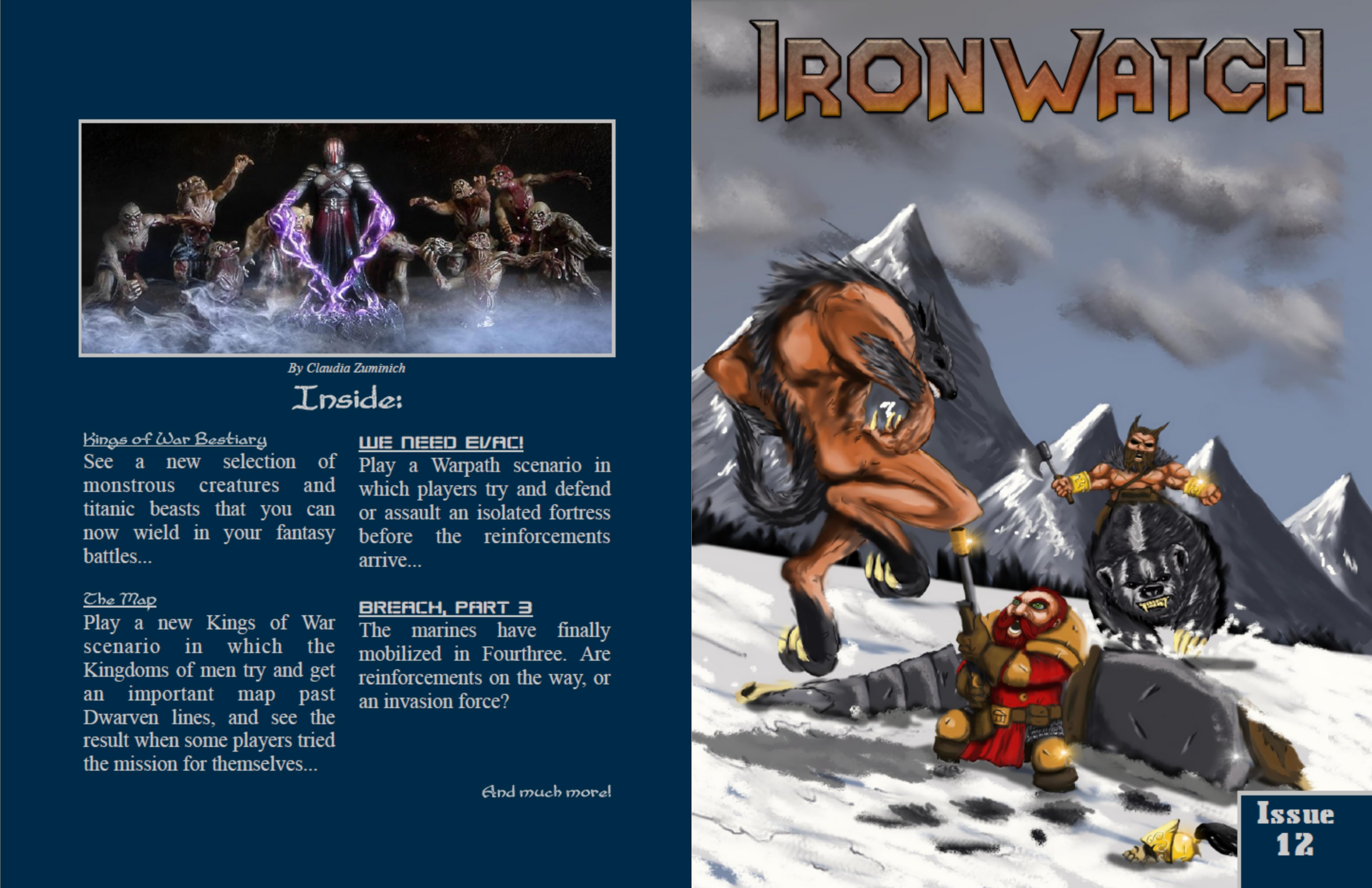 Ironwath Issue 12 cover image