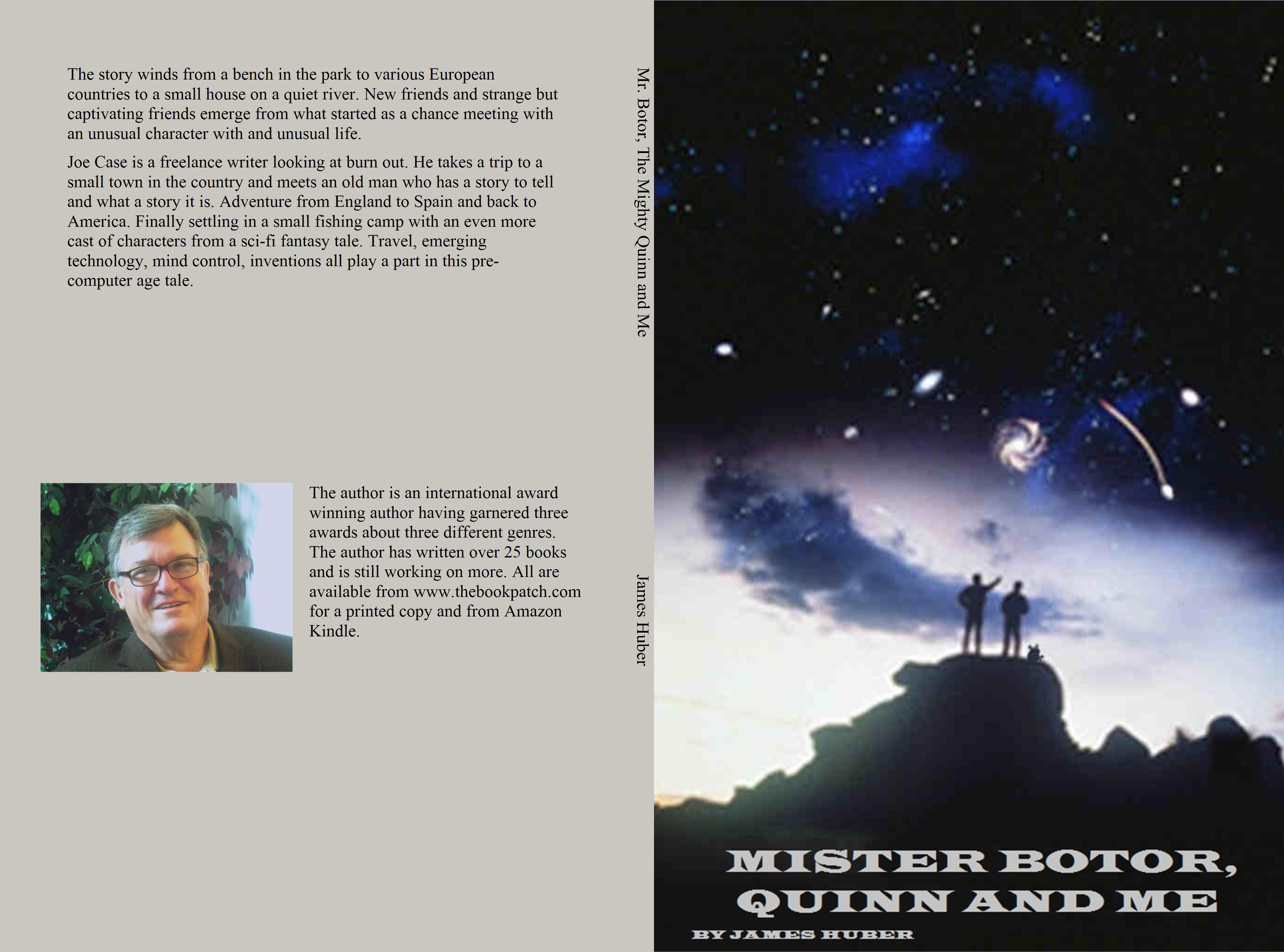 Mr. Botor, The Mighty Quinn and Me cover image