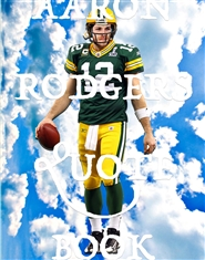 AARON RODGERS QUOTE BOOK - VOL. 01 cover image