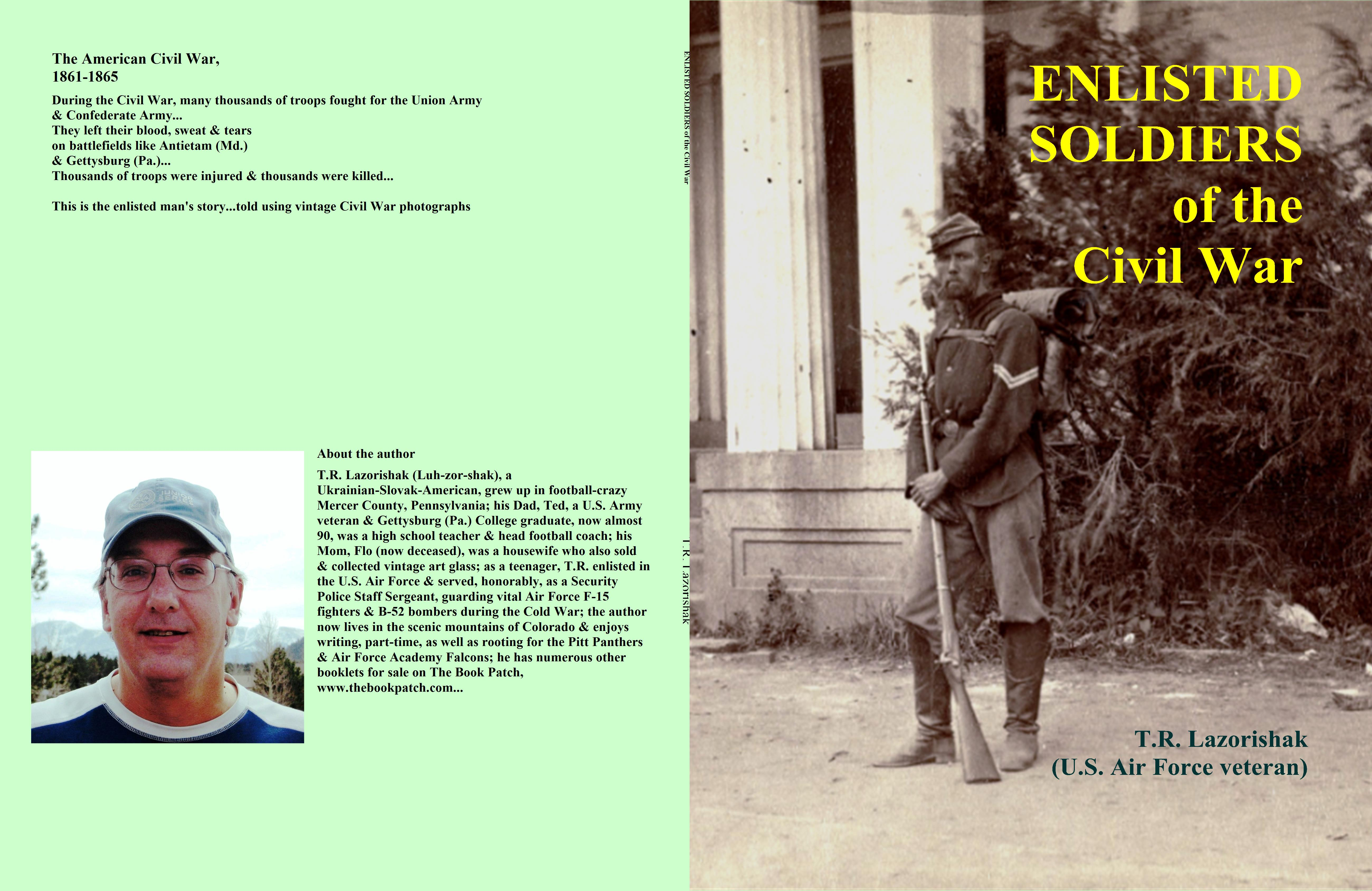 ENLISTED SOLDIERS of the Civil War cover image