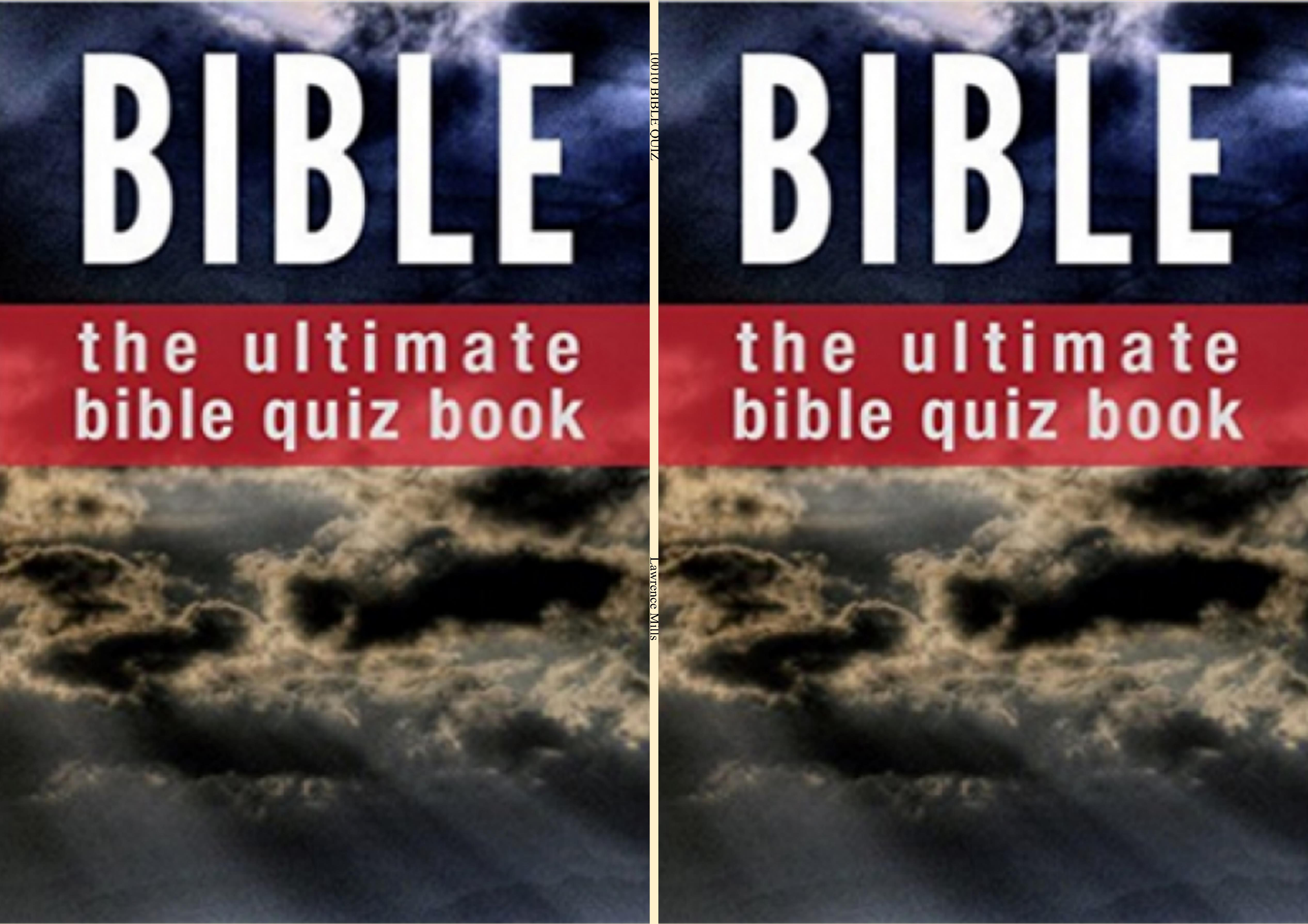 10010 BIBLE QUIZ cover image