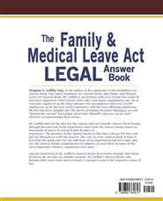 The Family & Medical Leave Act Legal Answer Book, Second Ed. cover image