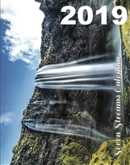 Seven Streams Monthly Calendar 2019 cover image